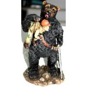 Статуэтка Медведь и Охотник