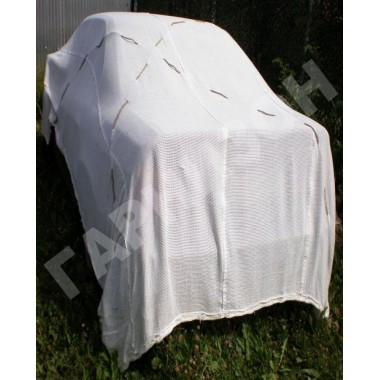 Сеть маскировочная белого цвета МКТ-С (снег) 3х6