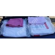 Комплект постельного белья конверсионный (2 простыни + наволочка + полотенце)