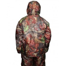 Куртка утепленная удлиненная Лес ткань Оксфорд